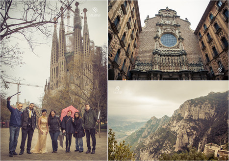 Bally + Sunny | Barcelona, Catalonia Asian Wedding Photography by Indian Wedding Videographers SALSHAN | Catalan Cultural Festive | Scoop.it