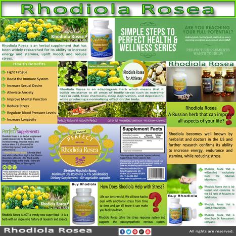 Rhodiola Rosea | Rhodiola Rosea | Scoop.it