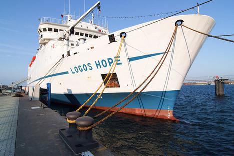 Le Logos Hope, la foire du livre flottante qui fait le tour du monde | Bibliothèques en évolution | Scoop.it