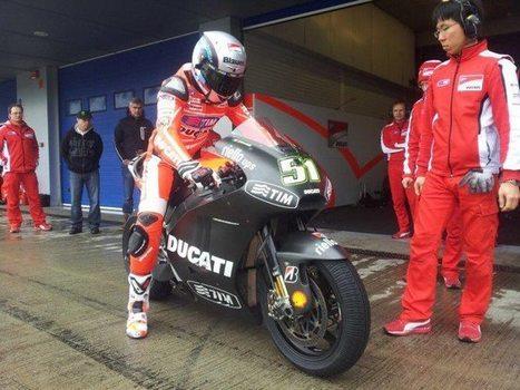 Jerez pre-season test concluded | Ducati news | Scoop.it