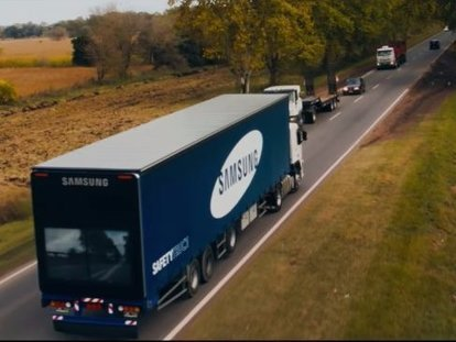Samsung testing a new 'Safety Truck' | Transport & Logistics | Scoop.it