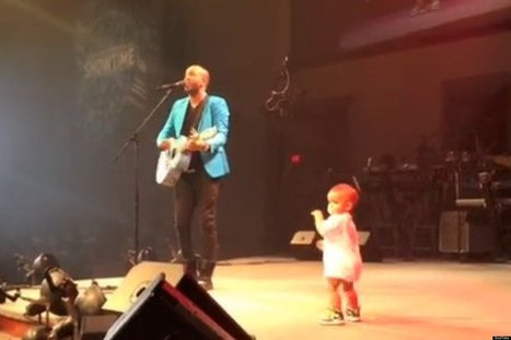 WATCH: Baby Crashes Dad's Concert | READ WHAT I READ | Scoop.it