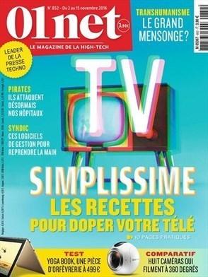 01 net n°852 - 02 novembre 2016   revue de presse cdi lycée sacré coeur   Scoop.it