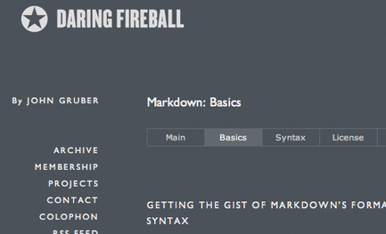 Mastering Markdown: 30 Resources, Apps and Tutorials to Get You Started | Design Shack | Web Design & Dev Journal | Scoop.it