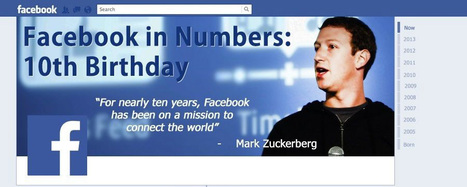 Facebook Turns 10: Highlights and Stats [Infographic] | Socially | Scoop.it