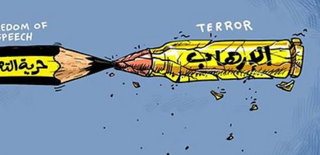 Here's How Arab Papers Reacted to the 'Charlie Hebdo' Massacre   Arabic Countries   Scoop.it