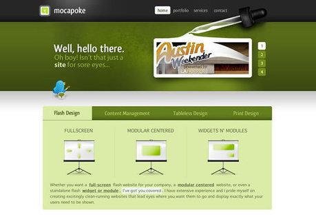 50 Beautiful Green Website Designs Inspire | Design Revolution | Scoop.it