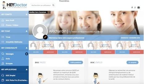 #HealthTech : Le réseau social médical Hey Doctor signerait-il la fin ... - Maddyness | Web social et santé | Scoop.it