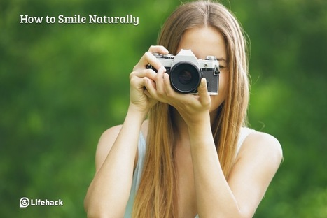 How to Smile Naturally without Looking Creepy | Funteresting Stuff | Scoop.it