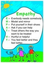 Empathy Stretching: It's all about helping our children experience switching places and seeing and feeling from another side | Educating for Empathy and Emotional Well-Being | Scoop.it