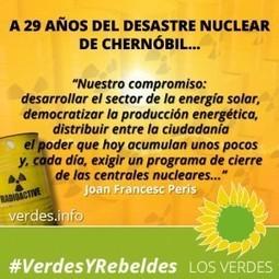 Aniversario de Chernóbil: Los Verdes a favor de la energía solar   Opinión   Scoop.it