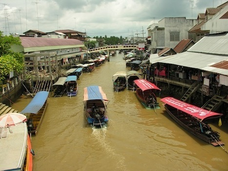 Floating markets around Bangkok | Party Around The World | Scoop.it