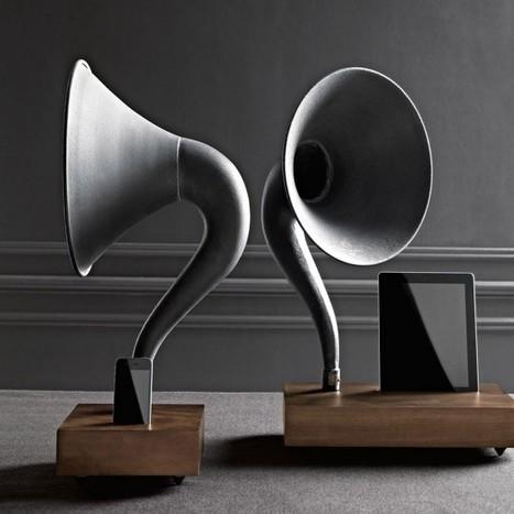 Restoration Hardware Gramophone | Harmony Design, Art, and Science | Scoop.it