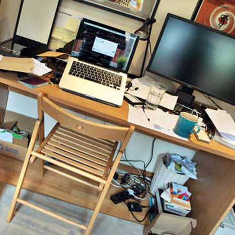 Messy Desks Encourage Creative Thinking | This Gives Me Hope | Scoop.it