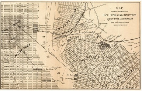 This 19th Century 'Stench Map' Shows How Smells Reshaped New York City | Bronx News | Scoop.it