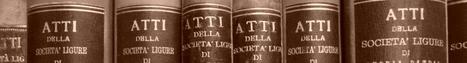 Biblioteca digitale della Società Ligure di Storia Patria | Généal'italie | Scoop.it