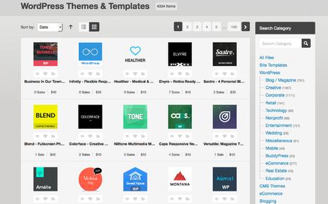 5 sitios imprescindibles para descargar plantillas WordPress responsive | Sergio Lima | Scoop.it