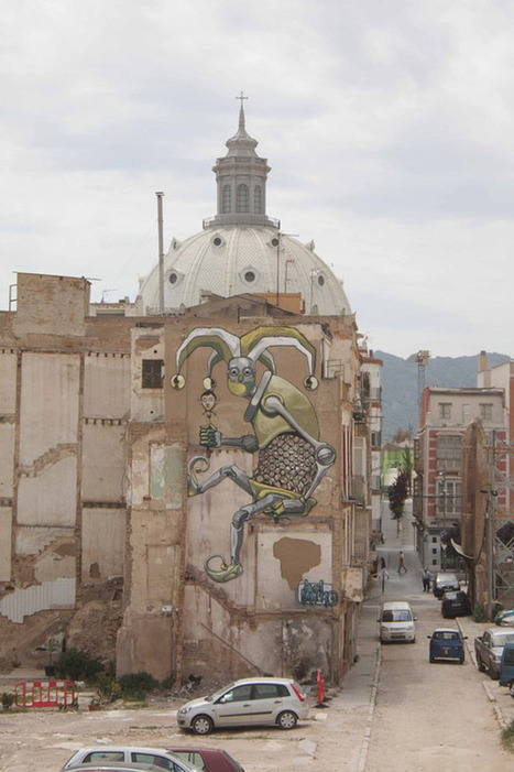 WALLS – Awesome Street Art Robots by PixelPancho   Ufunk.net   CRAW   Scoop.it