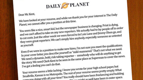 If Clark Kent tried to get a  newspaper job today | Convergence Journalism | Scoop.it
