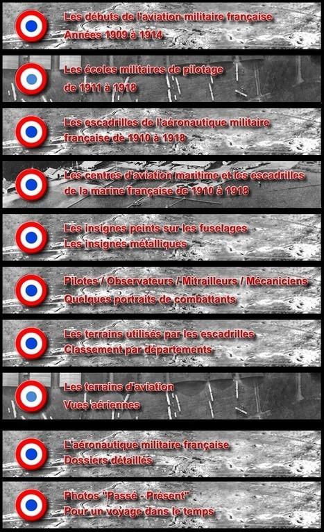 Les escadrilles de l'Aéronautique militaire française de la Grande Guerre | Nos Racines | Scoop.it