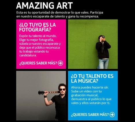 Nokia Amazing Art « ThinkinFreak.com | VIM | Scoop.it