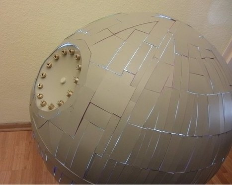 Home-made Death Star works kind of like the real thing | Maker Stuff | Scoop.it