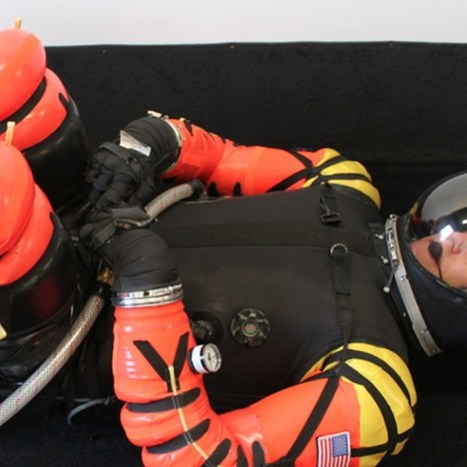 New York startup pitches commercial spacesuit on Kickstarter (Wired UK) | Space matters | Scoop.it