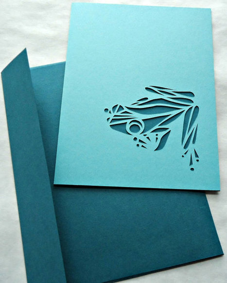 Paper Cut Cards from The Implied Line | Made with (and of) Paper | Scoop.it