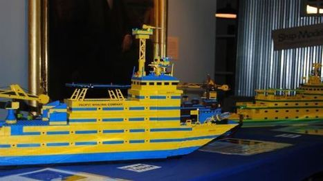 World's Largest Fleet Of Model Ships — Made Entirely Of LEGOS — To Dock In ... - CBS Local   Heron   Scoop.it