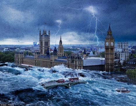 Apocalypse Britain: Terrifying images show Parliament wrecked by flooding and Edinburgh Castle hit by swarm of tornadoes | BIPV - Green Energy Buildings | Scoop.it