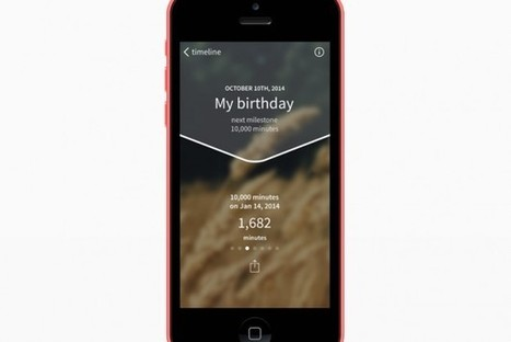 Platform Lets People Countdown The Moments Until Important Life Events | Sharing the secret | Scoop.it