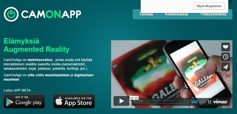 CamOnApp | Realidad Aumentada | Augmented reality tools and news | Scoop.it