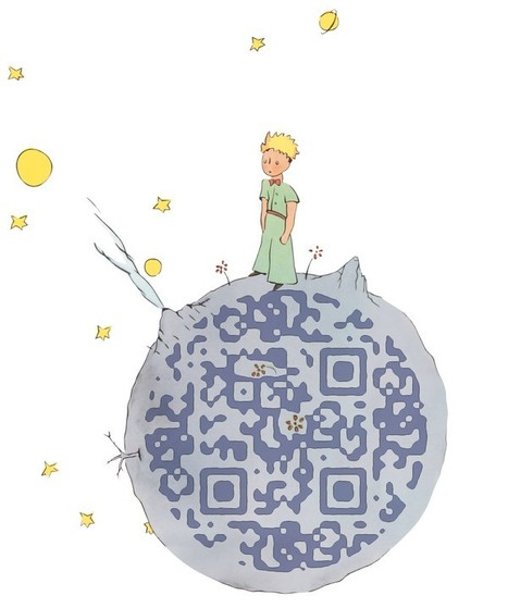Guettez le QR code du Petit Prince ! | QRdressCode | Scoop.it