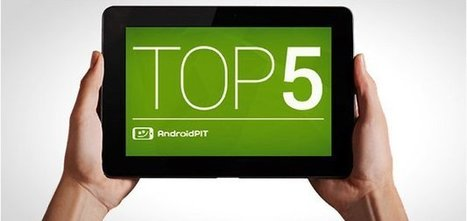 Top 5 des meilleures tablettes Android 10 pouces - AndroidPIT | Android Apps for EFL ESL | Scoop.it