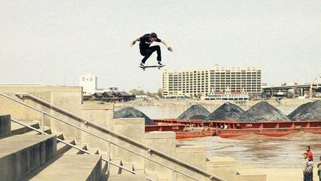 """Aaron """"JAWS"""" Homoki - OLLIE   Skateboarding   Scoop.it"""