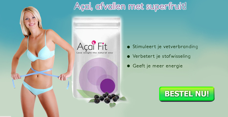 Become Slim with the best Acai fit pill   fax   Scoop.it