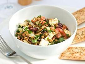 Jamie Oliver | Member Recipes | Risotto | Lentil and Bean Salad with Feta | johnsons kitchen | Scoop.it