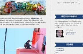 Favela Painting Revitalizing Brazilian Slums | Brazilian News | Scoop.it