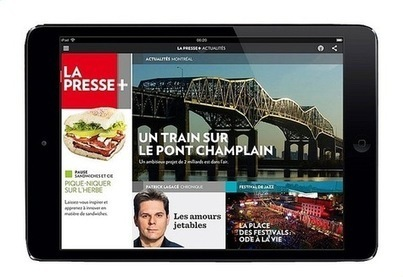 « La Presse + », quotidien du futur | La Croix | Orangeade | Scoop.it