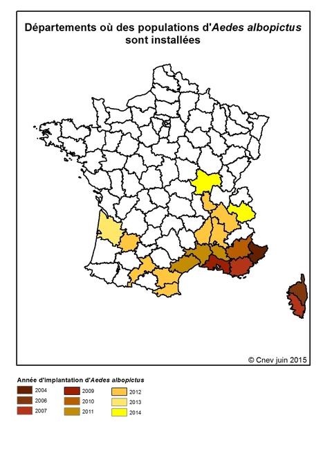 À la liste des départements où les moustiques constituent une menace pour la santé de la population, il faut maintenant ajouter le Tarn et la Vendée   EntomoNews   Scoop.it