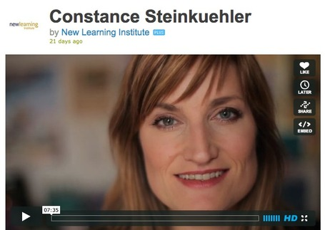 Constance Steinkuhler | DMLcentral | Game-Based Learning | Scoop.it