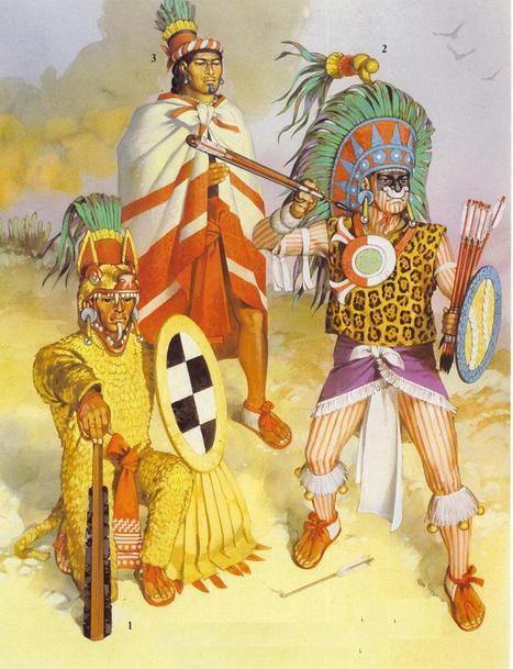 Historia de las prendas tradicionales de los aztecas. | La gran Tenochtitlán y sus fundadores los aztecas | Scoop.it