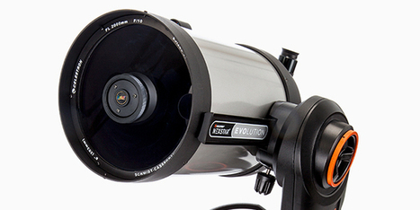 This Robotic Wi-Fi Telescope Is the Coolest App-cessory in the Galaxy  | Gadget Lab | WIRED | Heron | Scoop.it