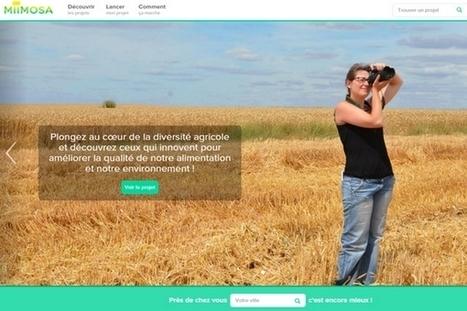 MiiMOSA : la plateforme de crowdfunding dédiée à l'agriculture | Organics Cluster | Scoop.it