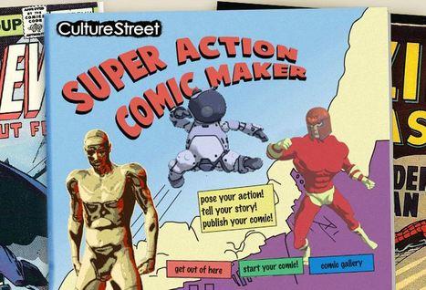 Culture Street - Super Action Comic Maker | Comic strips | Scoop.it