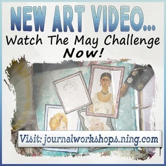 Jennibellie Studio: Finishing Your Art Journal Pages #2 ...Plus Other Videos | Crafts and creativity | Scoop.it