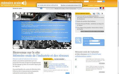 Mémoire orale de l'industrie et des réseaux - Technologie Education Culture en discussion | Thinking Lines | Scoop.it