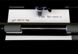 Pay a robot scribe to pen letters in your handwriting - tech - 14 January 2015 - New Scientist | Robolution Capital | Scoop.it