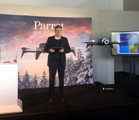 Bebop 2 de Parrot : plus d'autonomie pour encore plus de fun ! | Des robots et des drones | Scoop.it