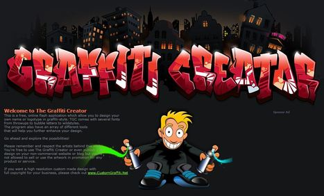 The Graffiti Creator - Online logo's maken | Mediawijsheid in het HBO | Scoop.it